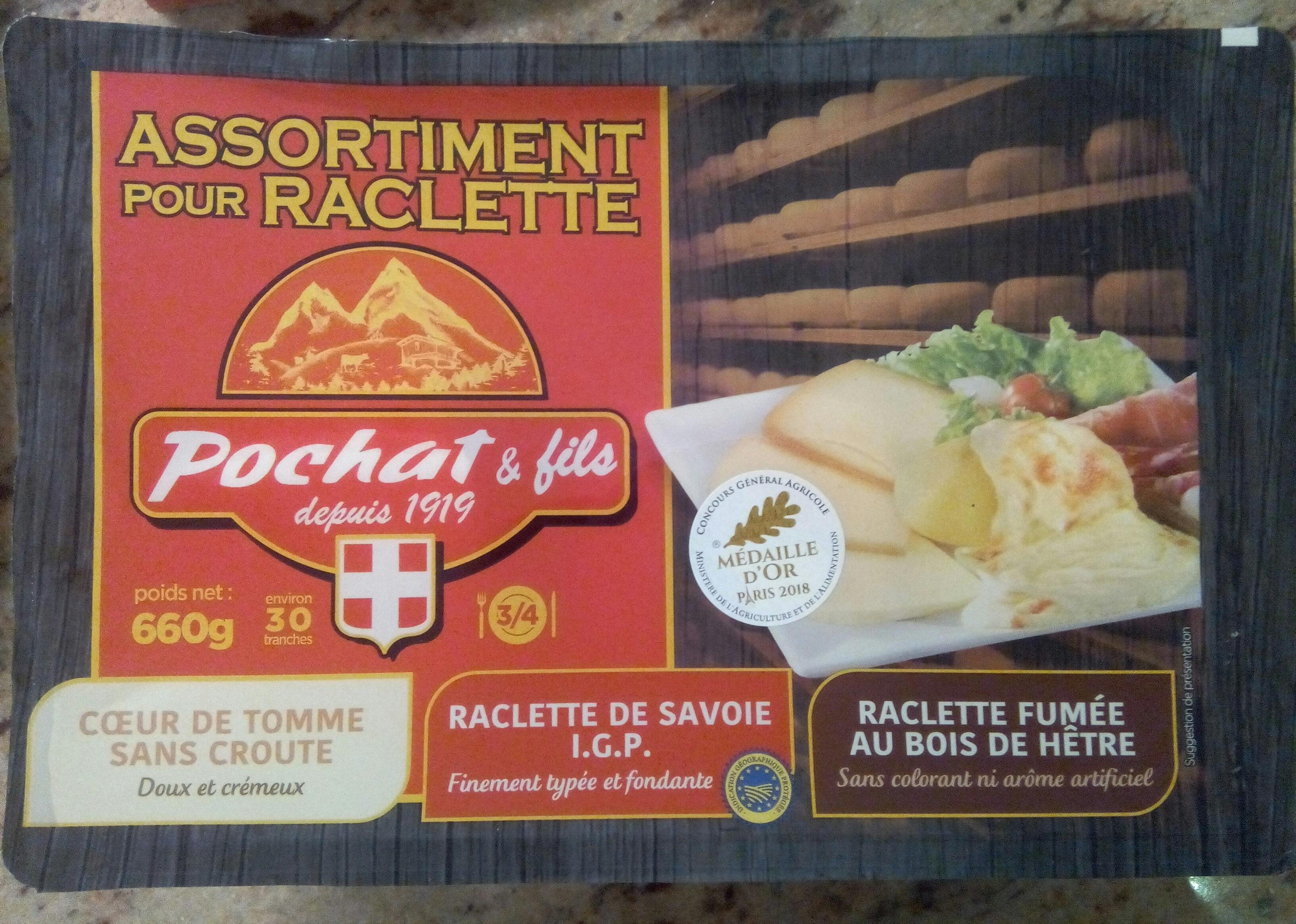 Assortiment Savoyard pour raclette - Produit - fr