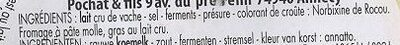 Reblochon fermier de Savoie - Ingredients - fr