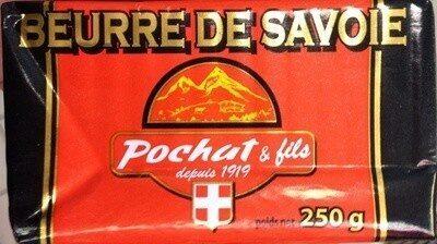 Beurre de Savoie (82% MG) - Product - fr