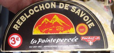 Reblochon De Savoie Au Lait Cru, La Pointe Percée - Product - fr