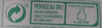 Beaumont de Savoie au lait cru - Recycling instructions and/or packaging information - fr