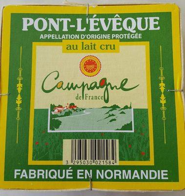 Pont l'évèque AOP - Produit - fr