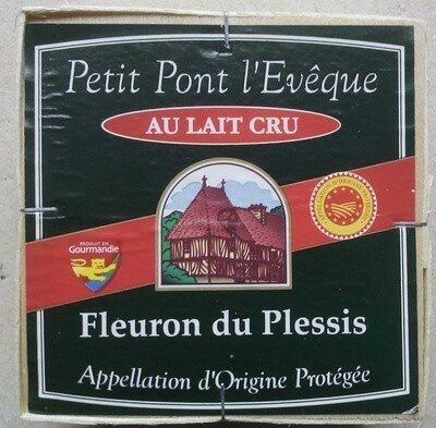 Petit Pont l'Evêque (24% MG) - Produit - fr
