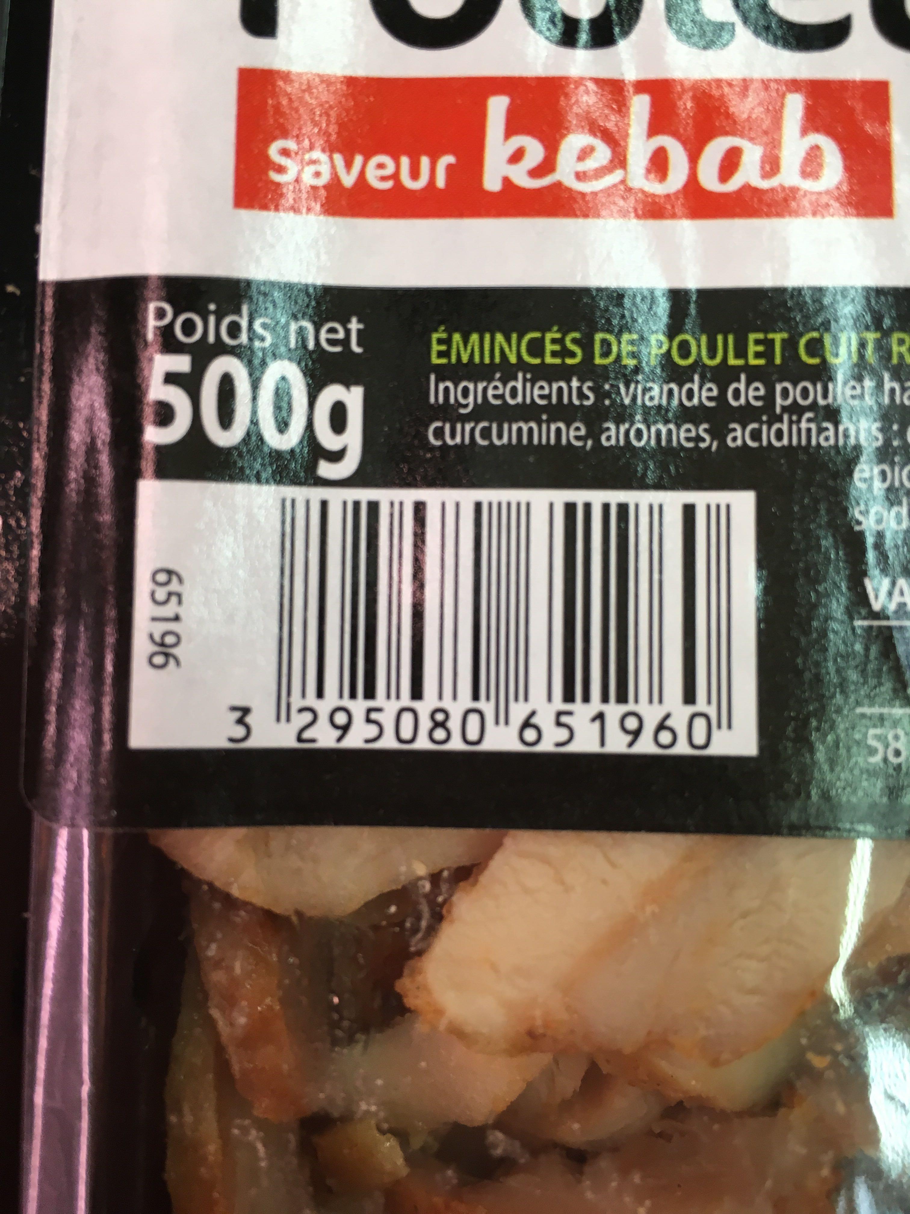 Émincés de poulet cuit - Product