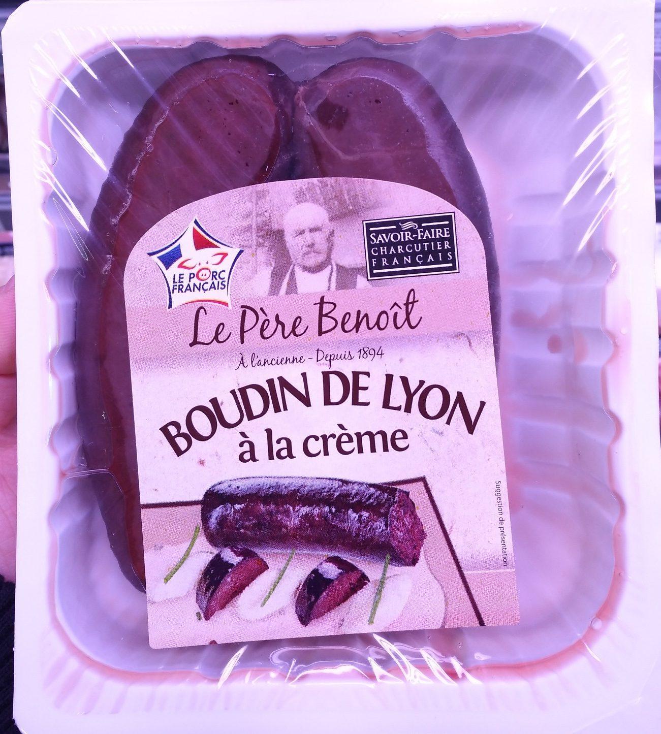 Boudin de Lyon à la crème - Produit - fr