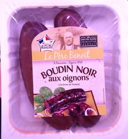 Boudin noir aux oignons à la farine de froment - Produit - fr
