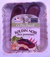 Boudin noir aux pommes à la farine de froment - Produit - fr