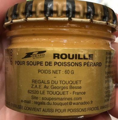 Rouille pour soupe de poissons - Produit - fr
