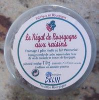 Regal de bourgogne aux raisins - Product