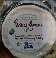 Brillat-Savarin affiné (40 % MG) - Produit