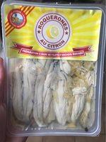 Anchois marinés au citron - Product - fr