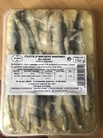 Anchois marinés au citron - Ingredients - fr