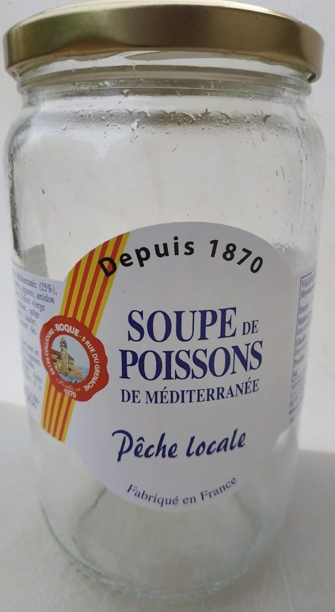 Soupe de poissons de Méditerranée - Product - fr
