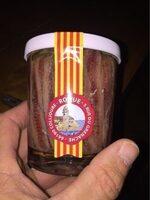 Filets d'anchois à l'huile de tournesol 250 g - Product - fr