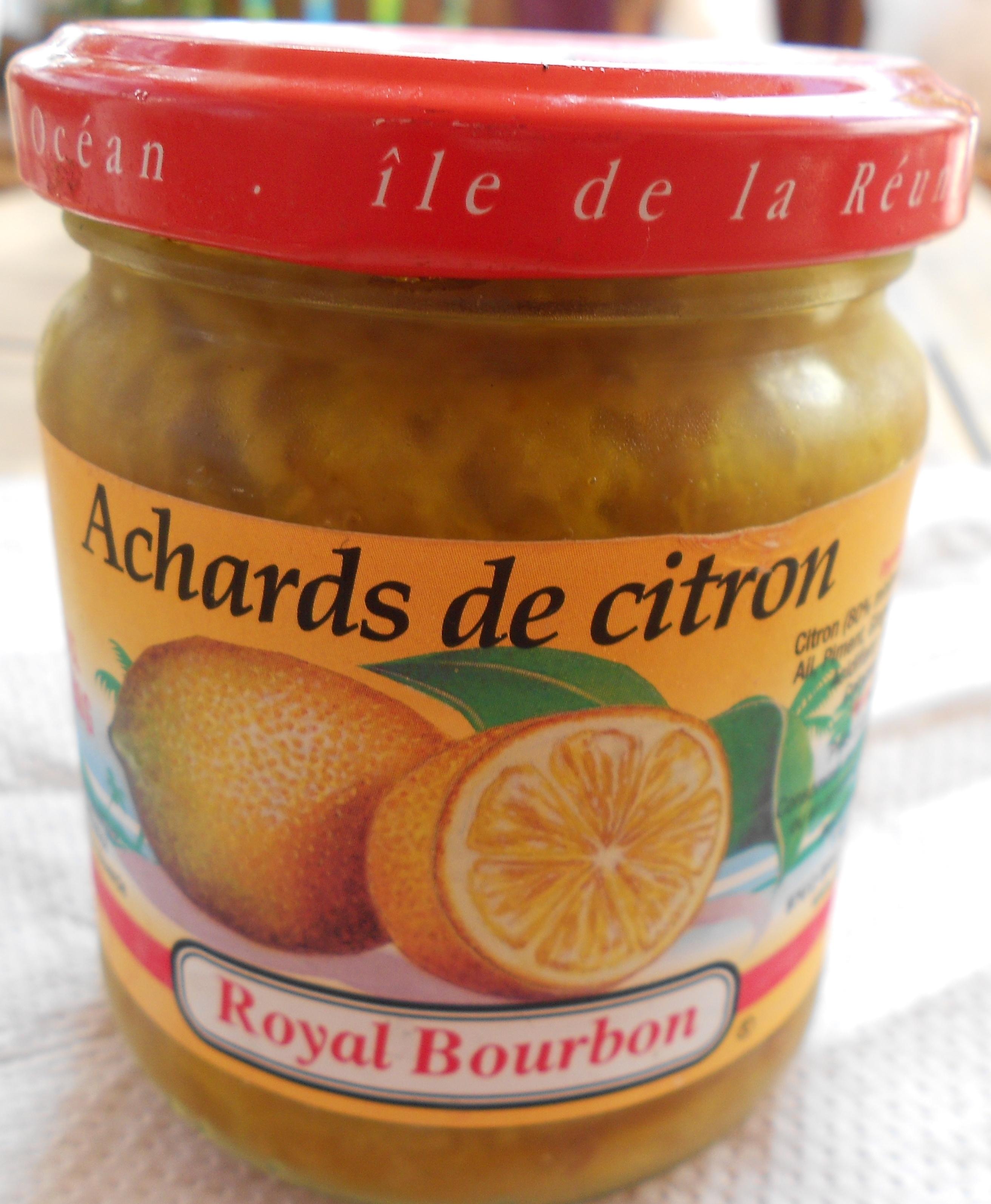 Achards de citron - Product