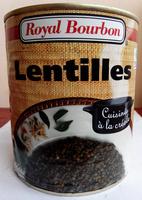 Lentilles cuisinées à la créole - 800 g - Royal Bourbon - Product - fr