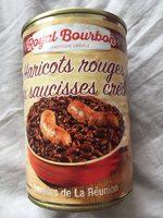 Haricots Rouges aux Saucisses Créoles - Produit