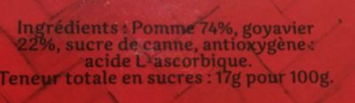 Pomme et goyavier - Ingrediënten
