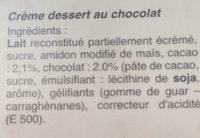Dolce Vita - Ingrédients - fr