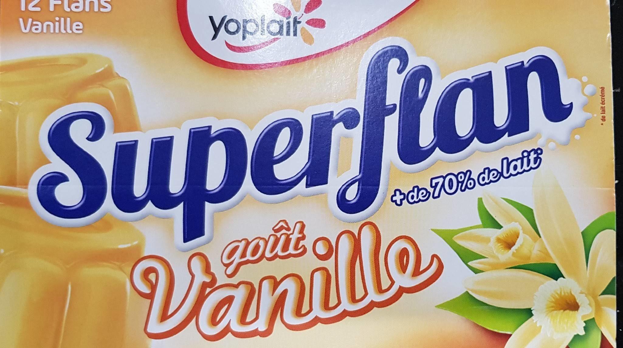 Super Flan Goût Vanille 6 Pots - Produit - fr