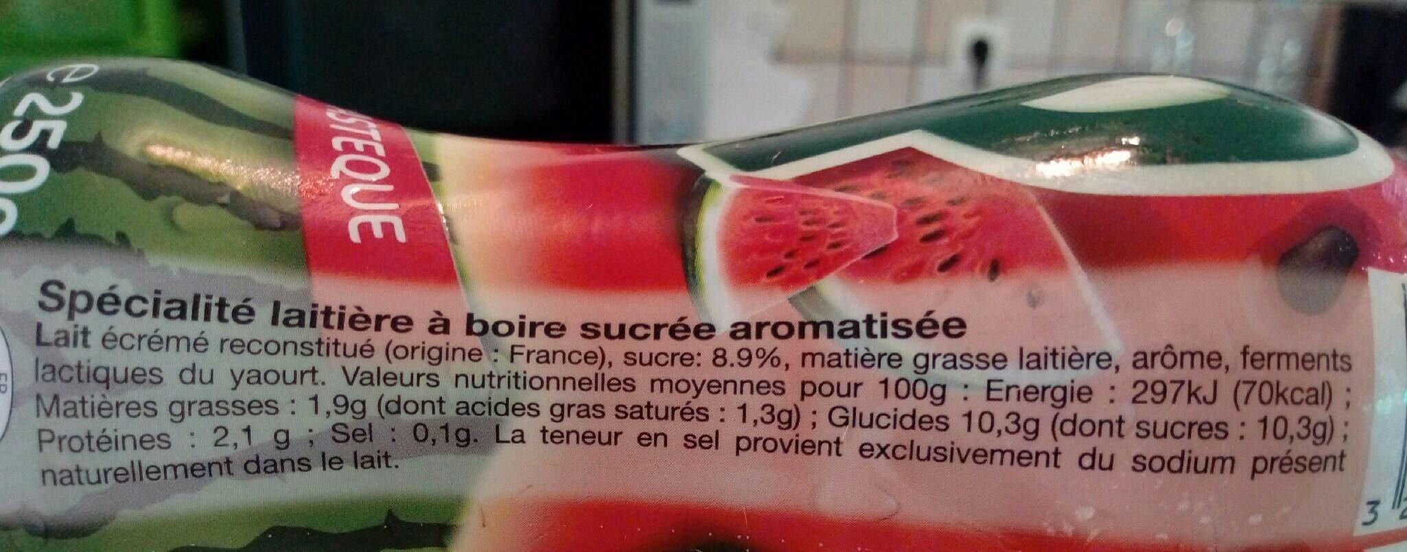 Yop pastèque - Ingrédients