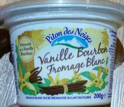Fromage blanc Vanille Bourbon - Produkt