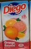 Jus d'orange Goyave - Product