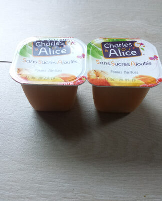 Charles & Alice pomme mangue 4x100g promo - Product - fr