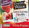 Compote Pomme Fraise - Product