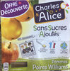 Pommes Poires Williams - Product