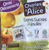 Pommes Poires Williams - Produit