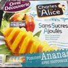 Compote Pommes-Ananas avec morceaux sans sucres ajoutés - Produit