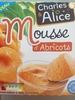 Mousse d'abricots - Product