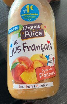 Le jus français pommes pêches - Product - fr
