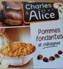 Compote pommes fondantes et châtaignes - Product