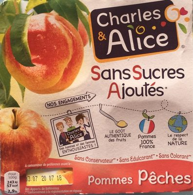Pommes peches - Product