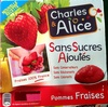 Pommes fraises - Producto