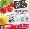 Pommes Framboises Sans Sucres Ajoutés - Product