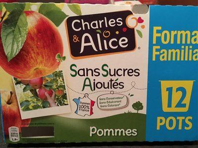 Pomme Sans Sucre Ajouté - Produit - fr