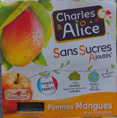 Pommes Mangues avec morceaux - Product - fr