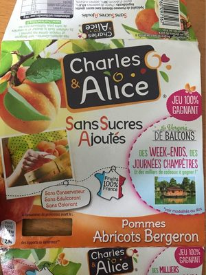 Pommes abricots bergeron - Product