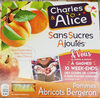 Pommes abricots bergeron - Product