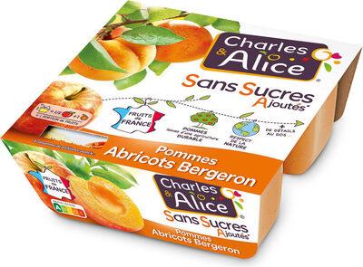 Pommes abricots bergeron SSA - Producto - fr