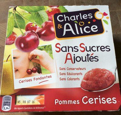 Pommes Cerises Sans Sucres Ajoutés - Product