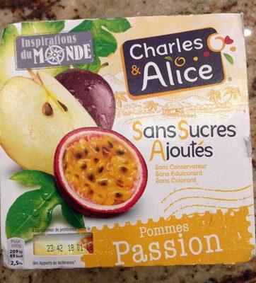 Pommes Passion Sans Sucres Ajoutés - Produit - fr