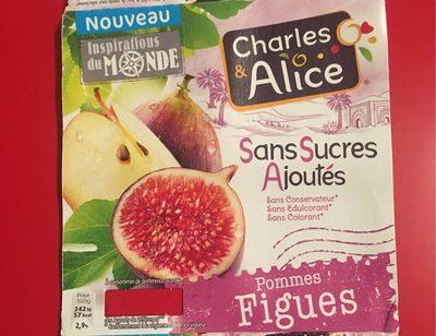 Compote pommes figues sans sucre ajoute - Product