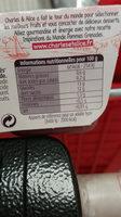 Pommes grenades - Valori nutrizionali - fr