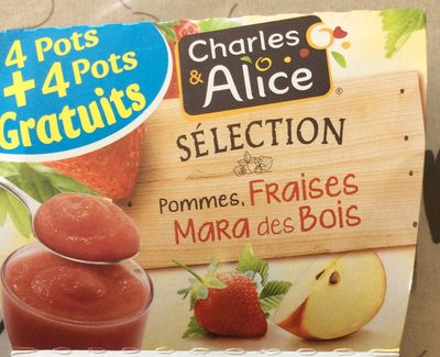 Pommes, Fraises Mara des Bois - Product - fr