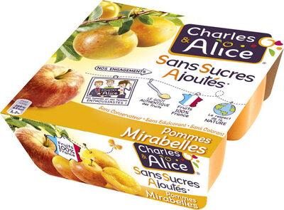 Pommes Mirabelles SSA - Produit - fr