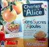 Pommes Mirabelles - Product